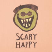 Boys Scary Happy Crusher Tee