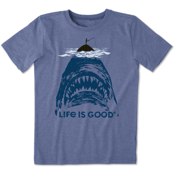a4275d4d Sale Boys Shark Fish Cool Tee | Life is Good® Official Site