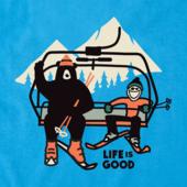 Boys Ski Lift Bear Crusher Tee