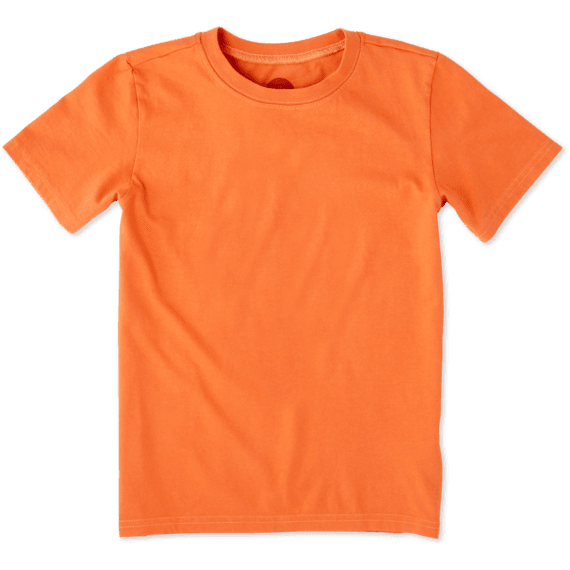 Boys Solid Crusher Tee