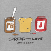 Boy's Spread The Love Boy's Crusher Tee