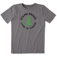 Boys Stand Proud Pine Cool Tee