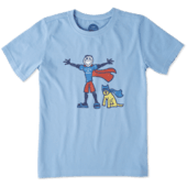 Boys Superhero Jake & Rocket Crusher Tee