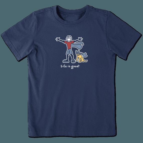 Boys Superhero Jake and Rocket Vintage Crusher Tee