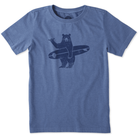 Boys Surf Bear Crusher Tee