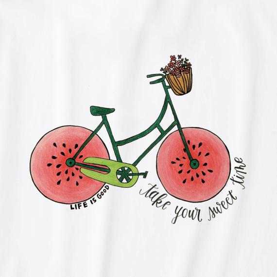 Boys Sweet Time Bike Crusher Tee
