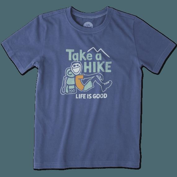 Boys Take A Hike Crusher Tee