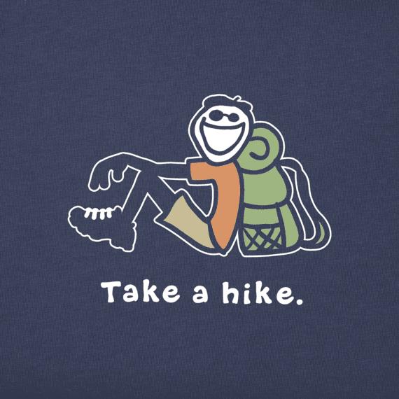Boys Take A Hike Jake Vintage Crusher Tee