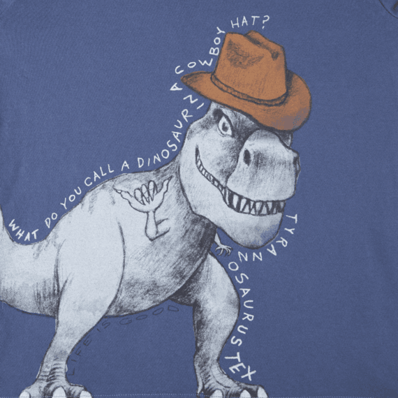 Boys Tyrannosaurus Tex Long Sleeve Crusher Tee