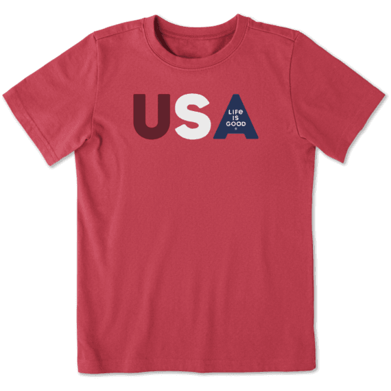 Boys USA LIG Crusher Tee