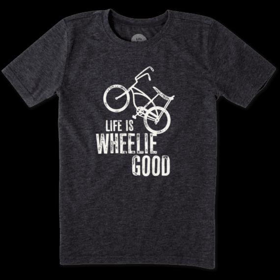 Boys Wheelie Bike Cool Tee
