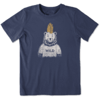 Boys Wild Bear Crusher Tee