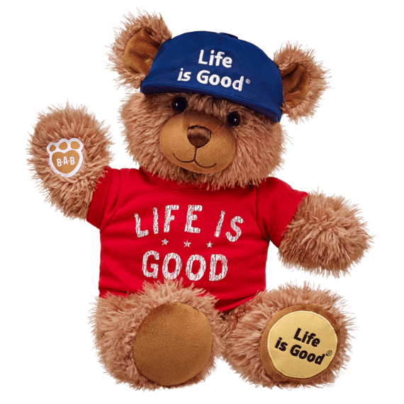 Build-A-Bear® Classic Life is Good Teddy