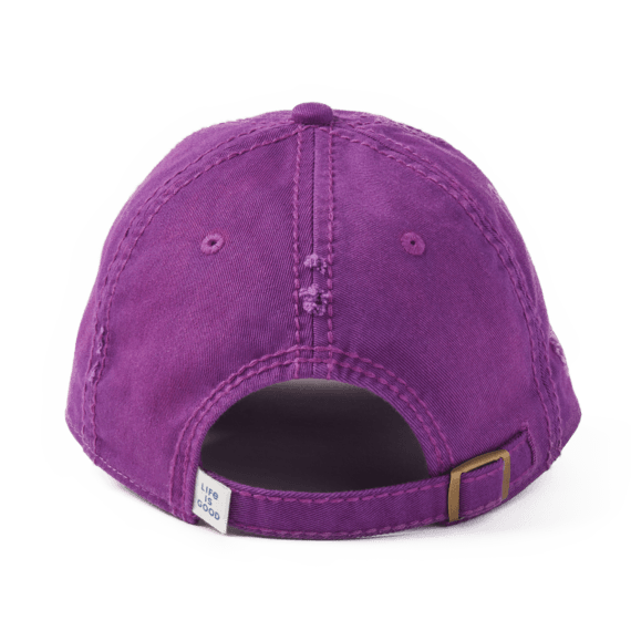 Butterfly Flowers Sunwashed Chill Cap