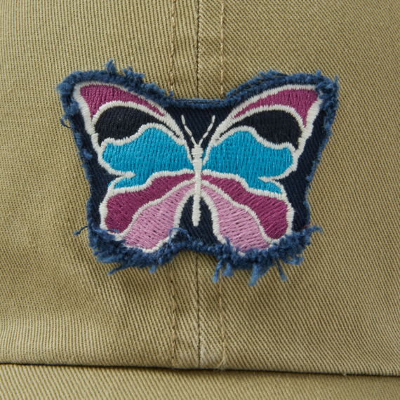 Butterfly Tattered Chill Cap
