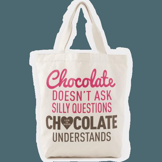 Chocolate Understands Simplicity Tote