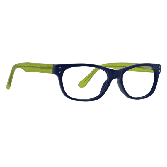 Cinema: Wayfarer Reader In Matte Blue & Green
