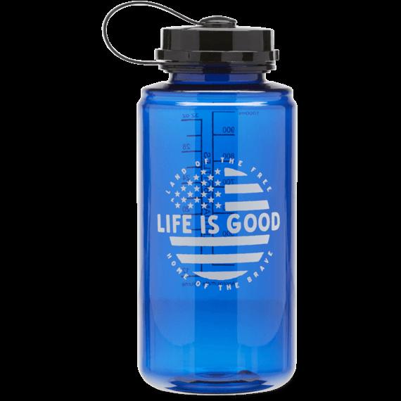 Circle Flag Water Bottle