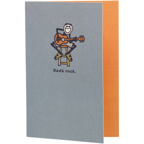 Dad's Rock Card