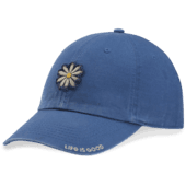Daisy Applique Tattered Chill Cap