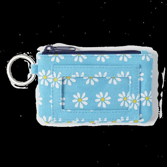 Daisy Pattern Wayfarer Wallet