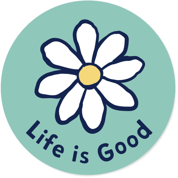 Daisy Circle Sticker