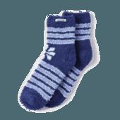 Daisy Stripes Snuggle Socks