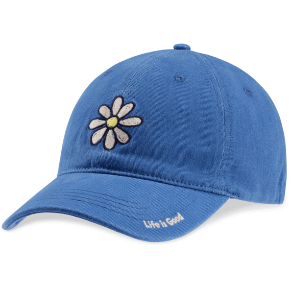 Daisy Sueded Stretch Chill Cap