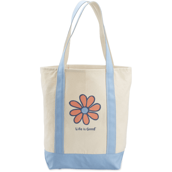 Daisy Carry On Canvas Tote