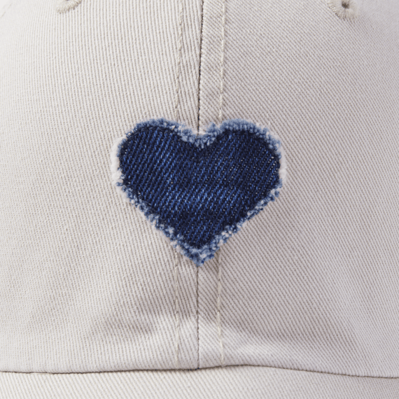 Denim Heart Tattered Chill Cap