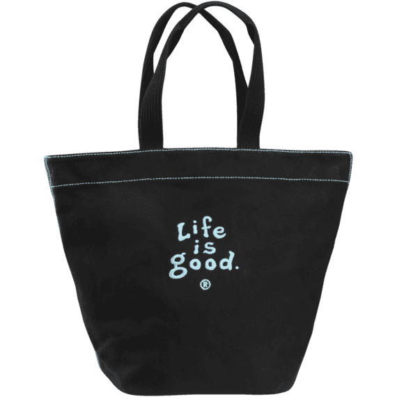 Large Life is good Classic Tote Bag