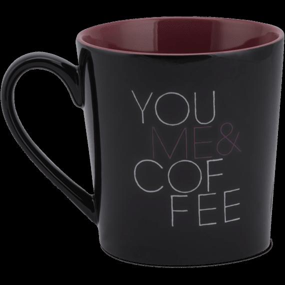 You Me and Coffee Everyday Mug