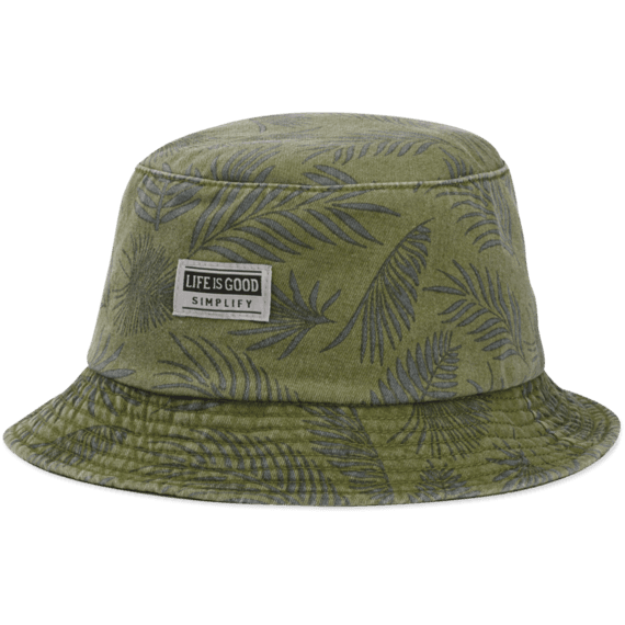 9d481eb84aa34 Images. Fern Print Bucket Hat