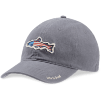 Fish Flag Sueded Stretch Chill Cap