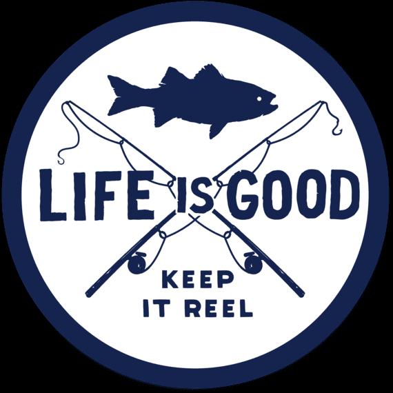 "4"" Fish Reel Stickers"