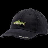 Fish Stitch Sunwashed Chill Cap