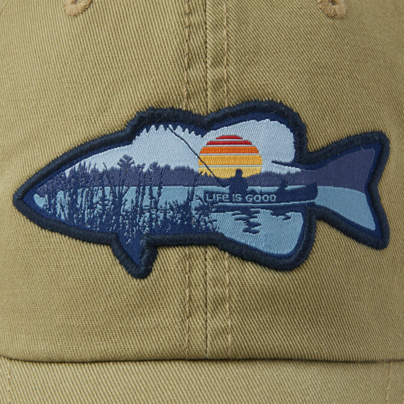 Fishing Vista Soft Mesh Back Cap