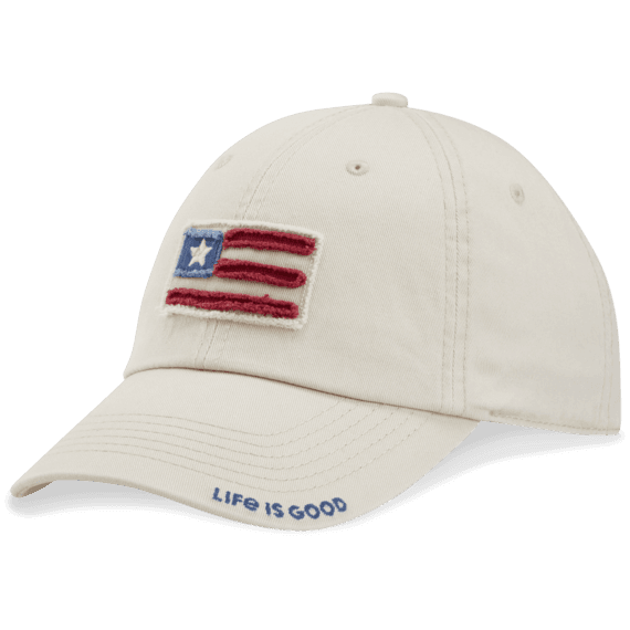 Flag Applique Tattered Chill Cap
