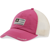 Flag Soft Mesh Back Cap