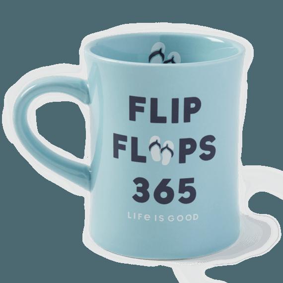 Flip Flops 365 Diner Mug
