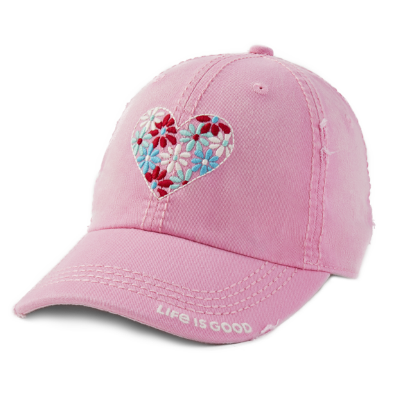 Flower Heart Sunwashed Chill Cap
