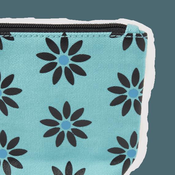 Flower Print Wayfarer Pouch