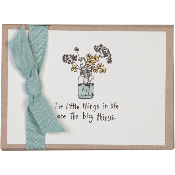 flowers thank you note card set - Thank You Note Cards