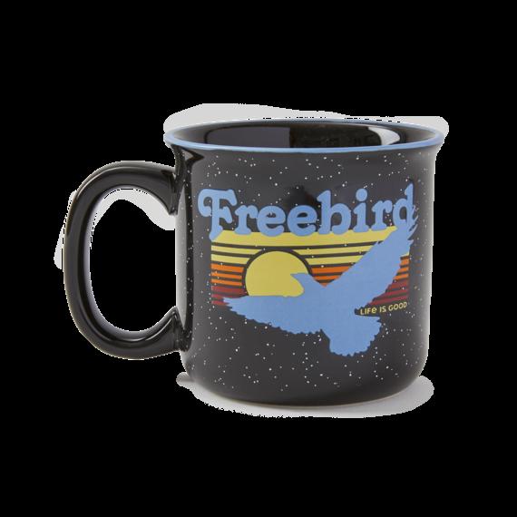 Free Bird Happy Camper Mug
