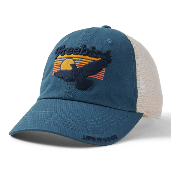 Free Bird Soft Mesh Back Cap