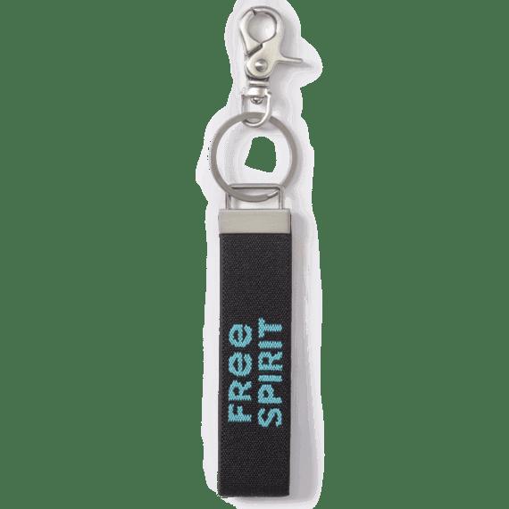 Free Spirit Ride On Keychain
