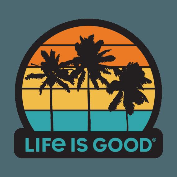 Get Away Palms Decal