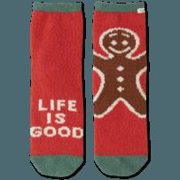 Gingerman Plush Snuggle Sock