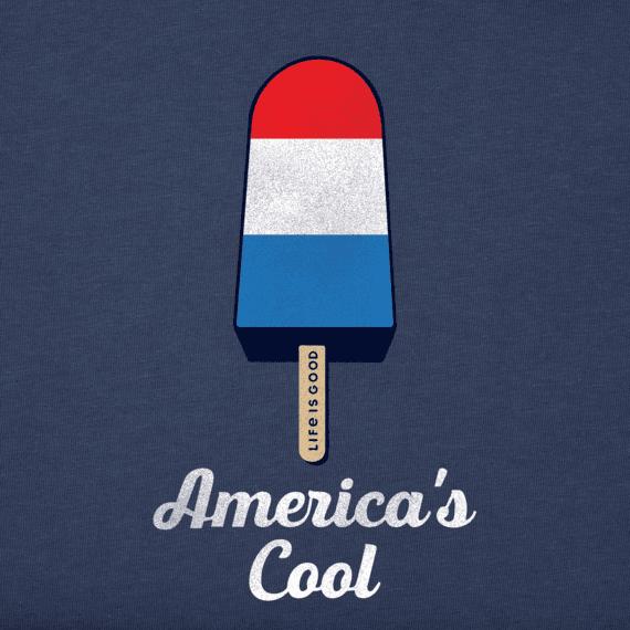 Girls Americana Popsicle Crusher Tee