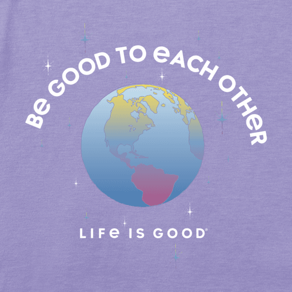 Girls Be Good To Each Other Long Sleeve Crusher Tee